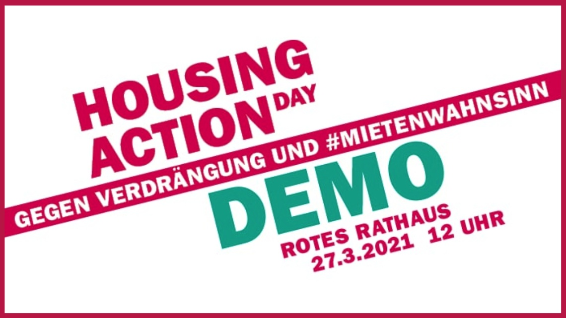 Housing Action Day, 27.03.21 🗓